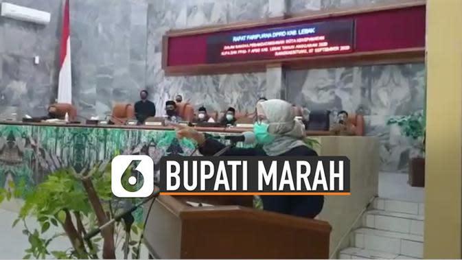 VIDEO: Viral Bupati Lebak Marah-Marah Saat Pidato di Rapat Paripurna