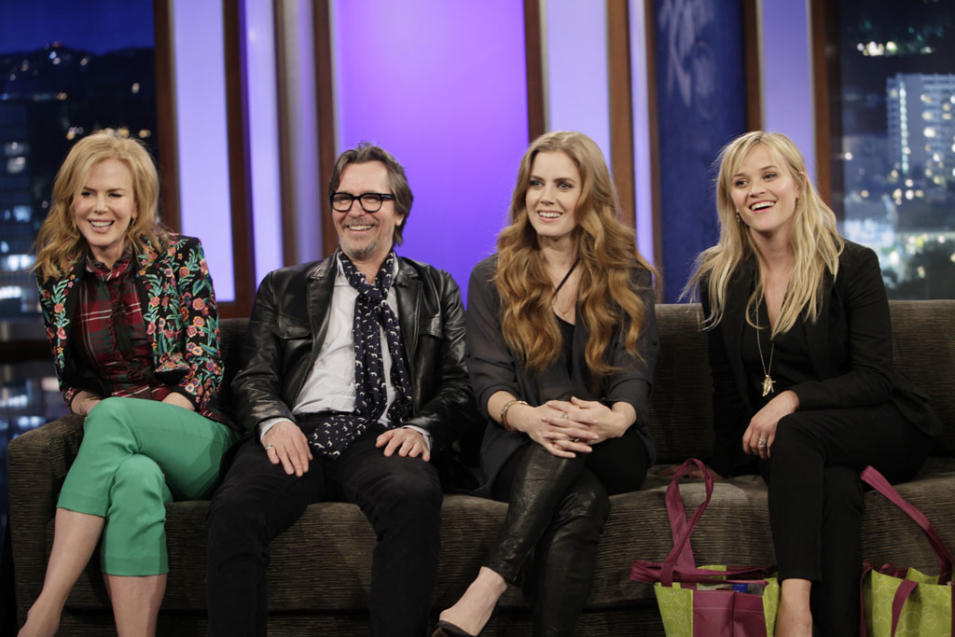 JIMMY KIMMEL LIVE - NICOLE KIDMAN, GARY OLDMAN, AMY ADAMS, REESE WITHERSPOON