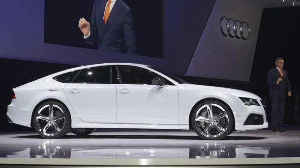 2014 Audi RS7 brings 560 hp with its U.S. passport