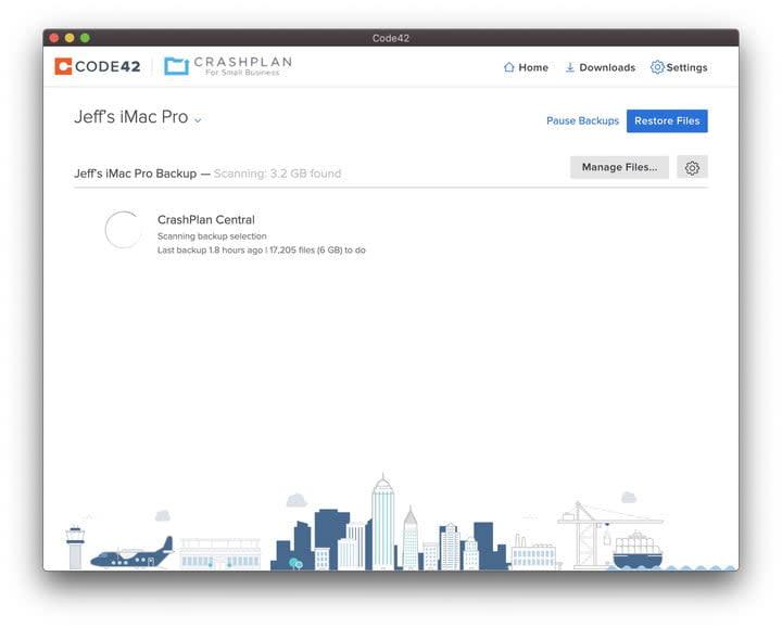 How to backup a Mac with CrashPlan