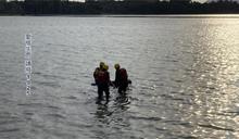 殉情?澄清湖漂男女雙屍緊貼 背包放大石「紅繩」綁住