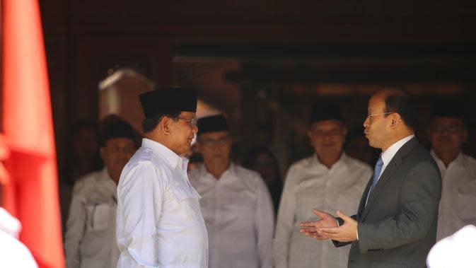 Dubes China bertemu Prabowo di Hambalang, Bogor. (Liputan6.com/Ratu Annisa Suryasumirat)