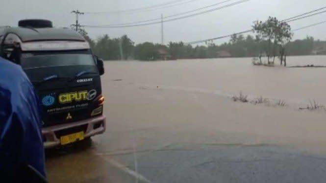 Akibat Banjir Bandang Garut Selatan, Dua Nelayan Dinyatakan Hilang