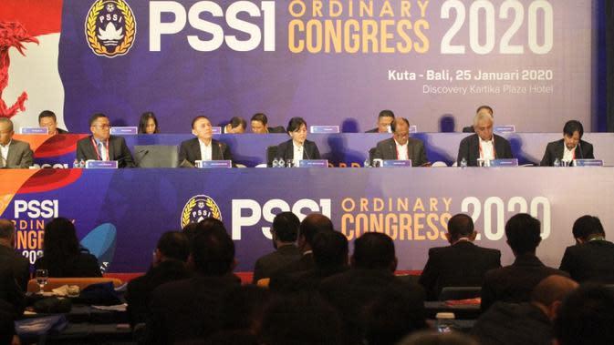 Kongres tahunan PSSI 2020. (PSSI).