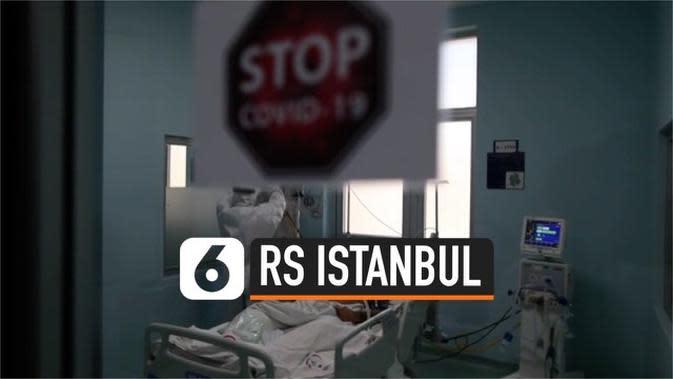 VIDEO: 2.500 Pasien Positif Corona di RS Istanbul