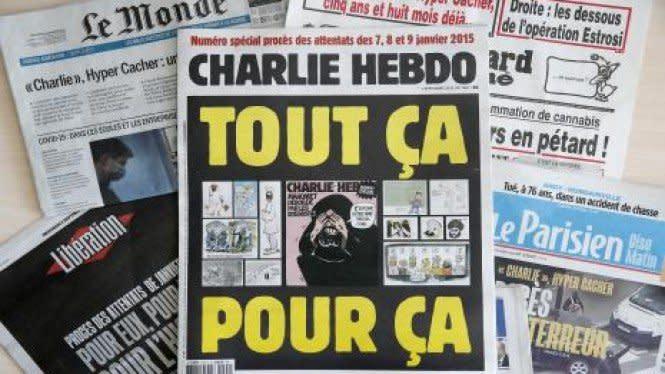 Guru Prancis Ditikam Mati Karena Kartun Nabi Muhammad