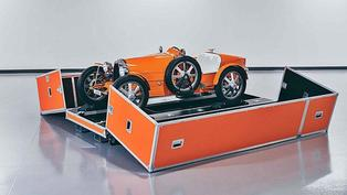 BUGATTI骨董玩具車Baby II開始交車,和BUGATTI一樣稀有限量也享有相同尊榮的售後服務