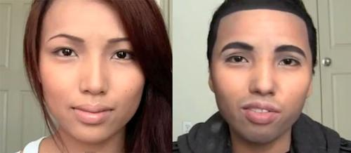 Girl Transforms Into Drake… With Makeup