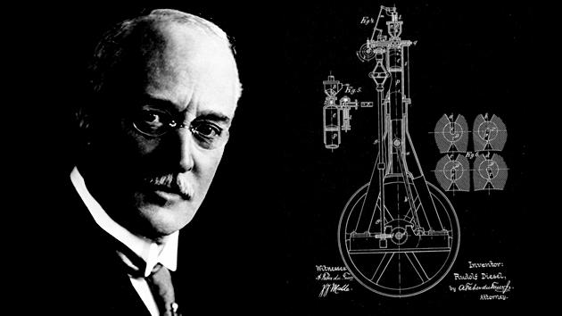 August 9: Rudolph Diesel wins a U.S. patent for his engine on this date in 1898