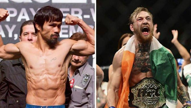 Rencana duel Manny Pacquiao vs Conor McGregor bisa terwujud (Foto: Istimewa)