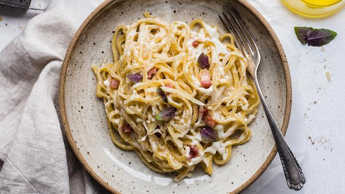 ilustrasi carbonara/Photo by Bruna Branco on Unsplash