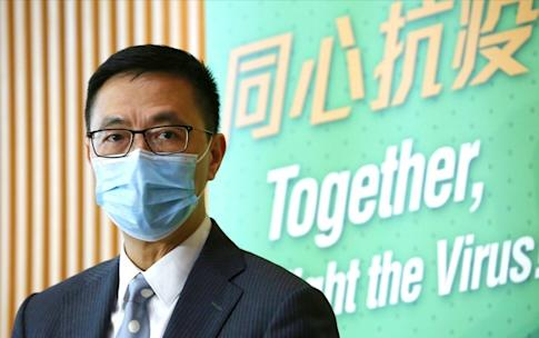 """Secretary for Education Kevin Yeung says schools have """"done well"""" in terms of infection-control measures. Photo: Jonathan Wong"""