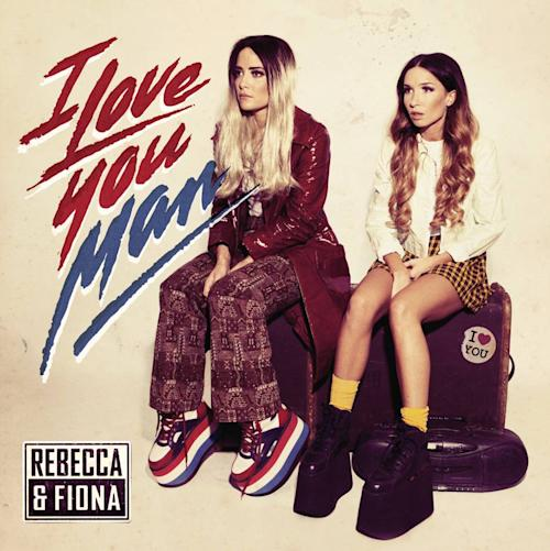 "This CD cover image released by Ultra shows the latest release by Rebecca & Fiona, ""I Love You, Man."" (AP Photo/Ultra)"