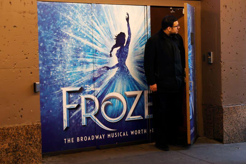 'Frozen' musical becomes biggest victim of Broadway coronavirus shutdown