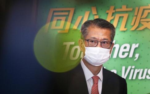 Financial Secretary Paul Chan. Photo: May Tse