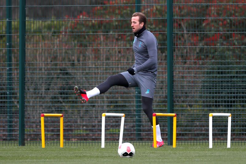 Champions League - Tottenham Hotspur Training