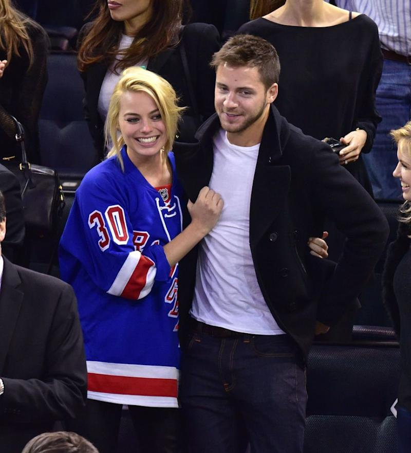 She shut down comments about her marriage to Tom Ackerley, seen here together in February. Source: Getty