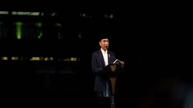 Pesan Malam Takbiran Jokowi Menggetarkan: Tawakal Buahkan Berkah