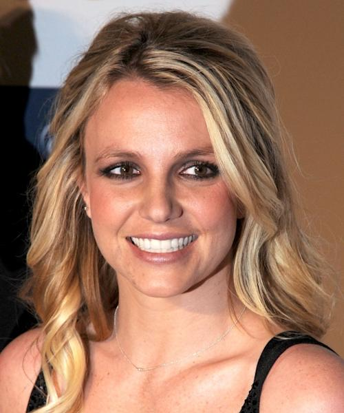 Britney Spears arrives at Clive Davis and The Recording Academy's 2012 Salute To Industry Icons Gala at The Beverly Hilton hotel, Beverly Hills, on February 11, 2012 -- FilmMagic