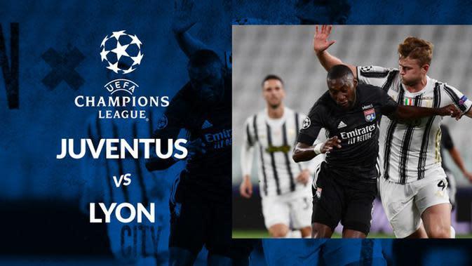 MOTION GRAFIS: Olympique Lyon Singkirkan Juventus di Liga Champions Berkat Gol Tandang