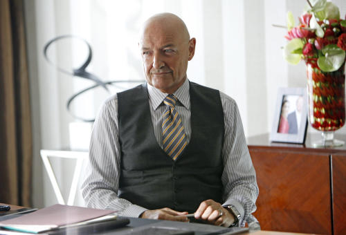 "This image released by ABC shows Terry O'Quinn as Gavin Doran in a scene from the ABC series ""666 Park Avenue,"" premiering Sunday, Sept. 30 at 10 p.m. EST on ABC. (AP Photo/ABC, Patrick Harbron)"