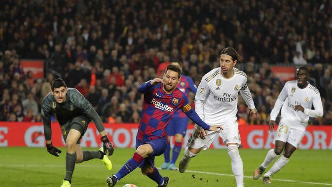 Klub-Klub Liga Spanyol Terancam Rugi Rp 17,16 Triliun Jika Kompetisi Dihentikan