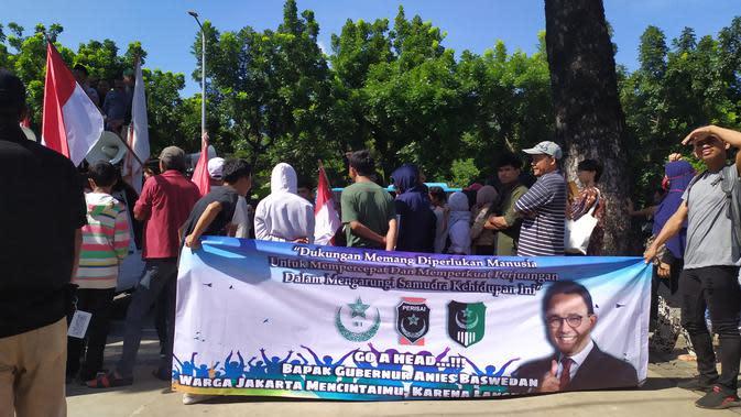 Polisi Kawal Kepulangan Massa Demo di Balai Kota untuk Hindari Bentrok