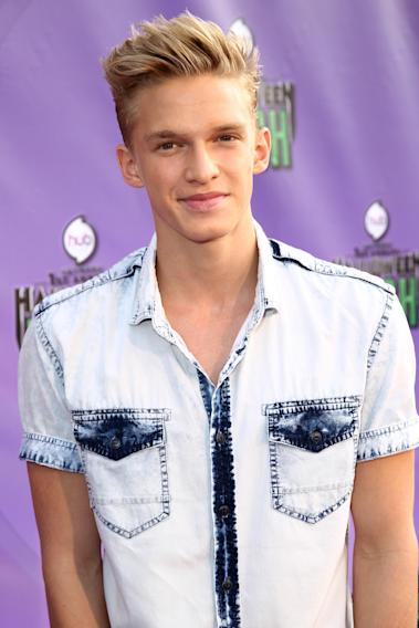 "Cody Simpson arrives at ""Hub Network's First Annual Halloween Bash"" on Sunday, Oct. 20, 2013, at the Barker Hanger in Santa Monica, Calif. The star-studded special will be broadcasted on the Hub Network on Saturday Oct. 26, 2013. (Photo by Matt Sayles/Invision for the Hub/AP Images)"
