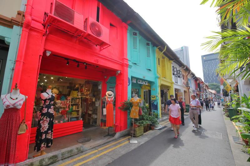 Haji Lane in Singapore. (PHOTO: Getty Images)