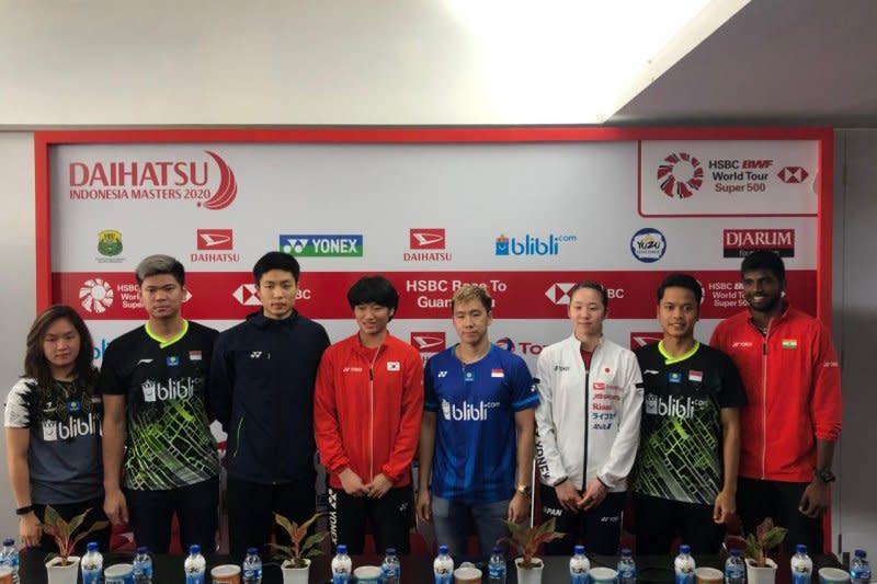 Indonesia Masters alokasi penjualan tiket OTS sebesar 70 persen