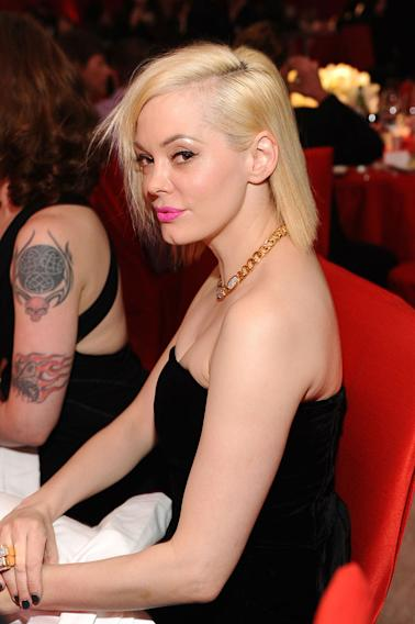 Chopard At 21st Annual Elton John AIDS Foundation Academy Awards Viewing Party: Rose McGowan