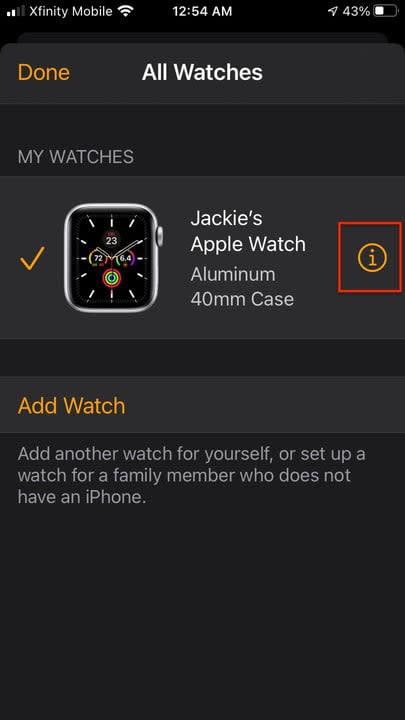 how to pair an apple watch unpair2