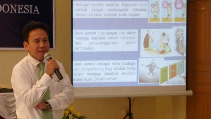 Deputi Gubernur Senior Bank Indonesia, Mirza Adityaswara.