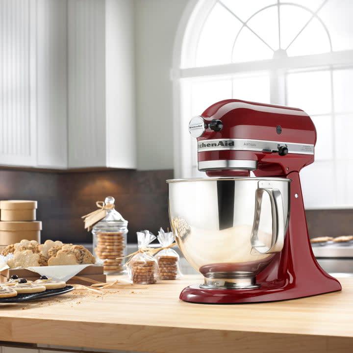 Artisan 5 Qt. 10-Speed Gloss Cinnamon Stand Mixer