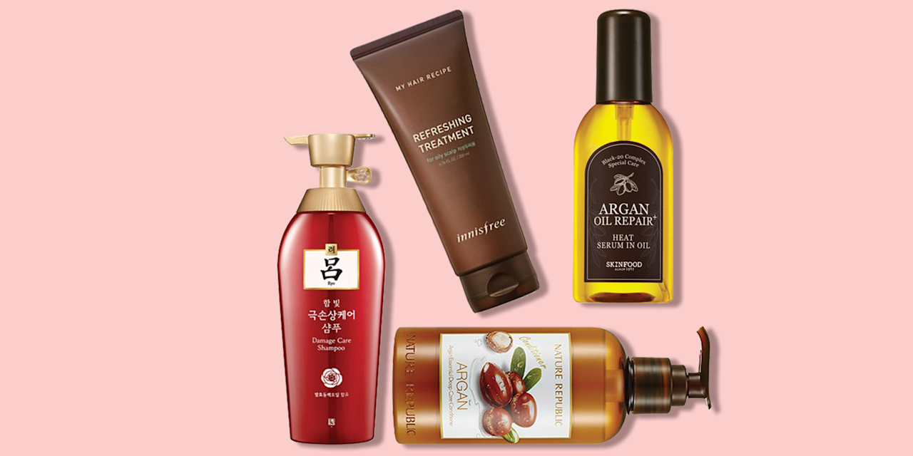 """<p>There's been a huge boom in <a href=""""https://www.goodhousekeeping.com/beauty/anti-aging/g3296/best-korean-skin-care-products/"""" target=""""_blank"""">K-beauty skincare</a> over the past few years, and now, those of us stateside are finally beginning to catch up in the haircare realm. Korean haircare is actually a lot like Korean skincare in that instead of weighing yourself down with quick-fix products (like too much <a href=""""https://www.goodhousekeeping.com/beauty-products/g28647973/best-hairsprays/"""" target=""""_blank"""">hairspray</a> or tons of <a href=""""https://www.goodhousekeeping.com/beauty-products/g26134878/best-dry-shampoos/"""" target=""""_blank"""">dry shampoo</a>), K-beauty haircare focuses on formulas that aim to treat and fix problems. </p><p>Because of this, intensive treatments and products that target the scalp are extremely popular. Korean hair products are filled with moisturizing and soothing ingredients like argan oil, goat milk, and shea butter. You can smooth on a scalp scaler or pop on a self-heating <a href=""""https://www.goodhousekeeping.com/beauty-products/g3970/best-face-sheet-masks/"""" target=""""_blank"""">sheet mask</a> (yes, there are sheet masks for hair!) for silky, smooth strands in no time.</p><p> While we still aren't able to get our hands on every product that people on Seoul swear by for luscious locks, thanks to brands that have begun to sell internationally, we're able to try some of the cult-favorites. Below, the <a href=""""https://www.goodhousekeeping.com/institute/about-the-institute/a19748212/good-housekeeping-institute-product-reviews/"""" target=""""_blank"""">Good Housekeeping Institute</a> Beauty Lab experts compiled a list of the best Korean haircare products you can try for yourself, with everything from <a href=""""https://www.goodhousekeeping.com/beauty-products/g32715498/best-shampoos-brands/"""" target=""""_blank"""">shampoo</a> and <a href=""""https://www.goodhousekeeping.com/beauty-products/g26212823/best-conditioner-for-dry-hair/"""" target=""""_blank"""">conditioner</a> t"""