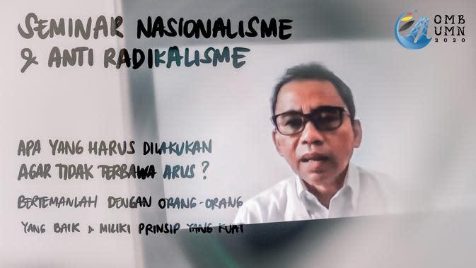 Orientasi Mahasiswa Baru Universitas Multimedia Nusantara (UMN).