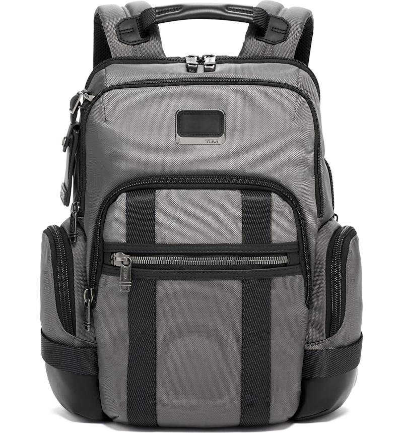 Tumi Alpha Bravo Nathan Expandable Backpack. Image via Nordstrom.