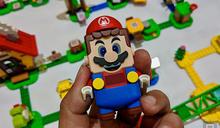 樂高瑪利歐冒險組簡單動手玩:踩磚塊、撞金幣!