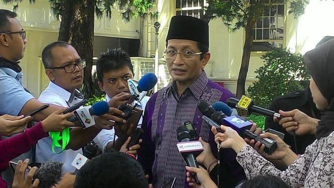 Imam besar Istiglal KH Nasaruddin Umar (Ahmad Romadoni/Liputan6.com)