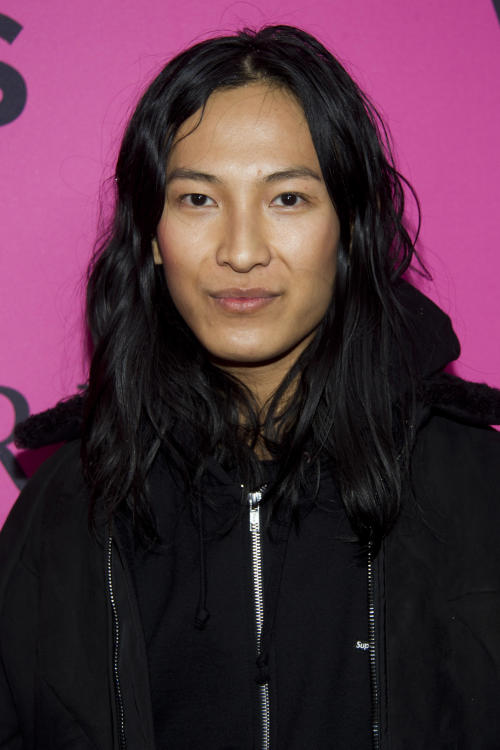 FILE - This Nov. 7, 2012 file photo shows designer Alexander Wang at the Victoria's Secret Fashion Show in New York. Wang and Proenza Schouler are among the leading nominees for this year's Council of Fashion Designers of America awards. CFDA president Diane von Furstenberg and CEO Steven Kolb announced Wednesday evening that Proenza's Lazaro Hernandez and Jack McCollough, and Wang were in the running for both womenswear designer of the year as well as the accessories category. (Photo by Charles Sykes/Invision/AP, file)