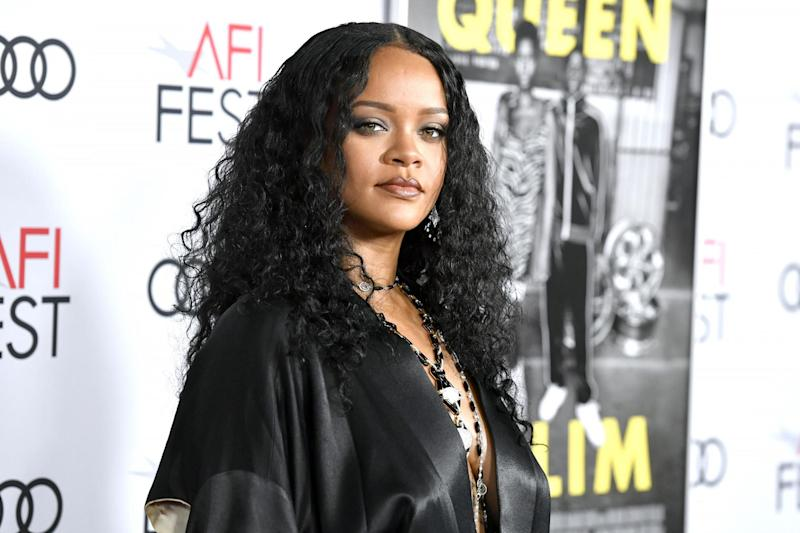 Rihanna on 14 November 2019 in Hollywood: Frazer Harrison/Getty Images