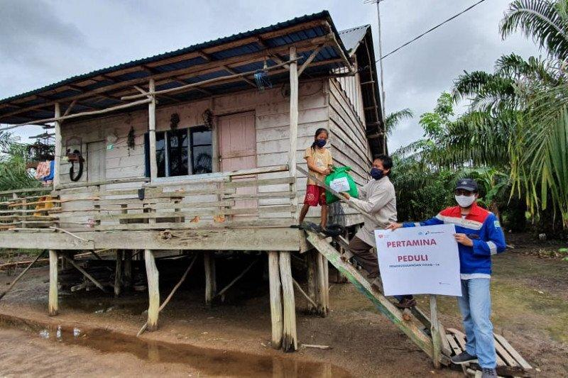 Pertagas salurkan 1.835 paket bantuan warga terdampak COVID-19