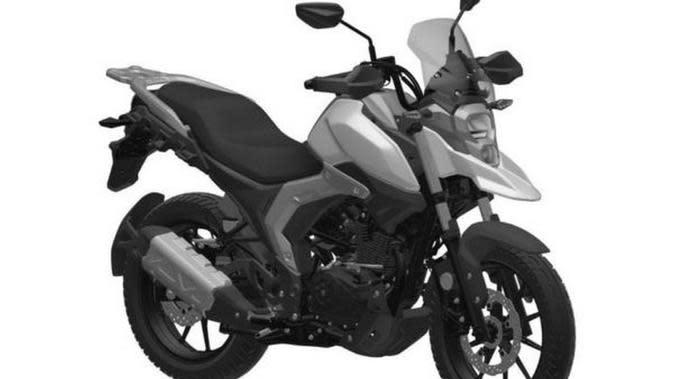 Gambar Paten Motor Terbaru Suzuki Bocor, Ini Wujudnya