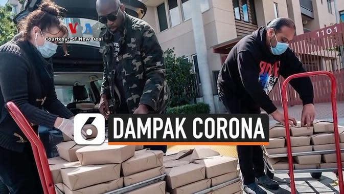 VIDEO: Membantu Bisnis Restoran dan Lansia Saat Pandemi Corona