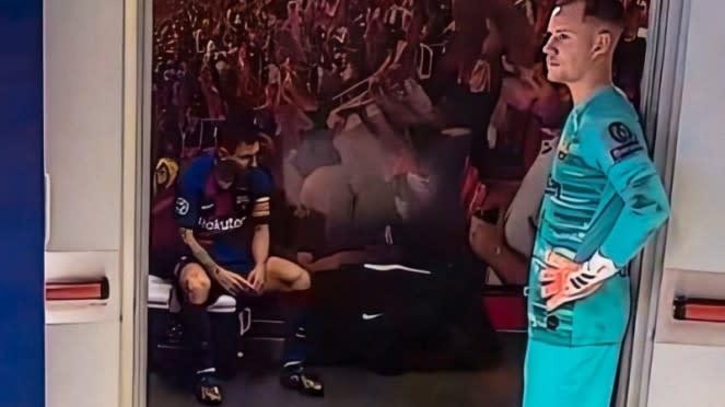 Lionel Messi syok Barcelona dibantai Bayern Munich