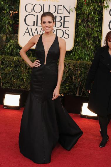 70th Annual Golden Globe Awards - Arrivals: Allison Williams