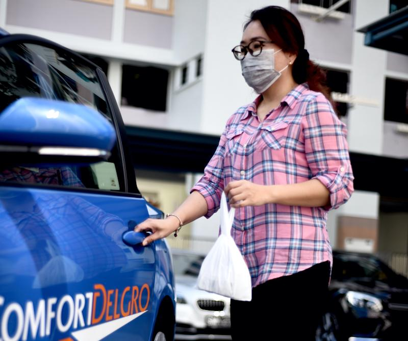 ComfortDelGro Taxi is offering medical supplies delivery service for all public health institutions. (PHOTO: ComfortDelGro)