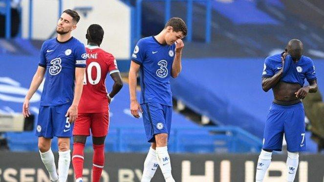 Bek Chelsea, Andreas Christensen, diusir wasit di laga lawan Liverpool