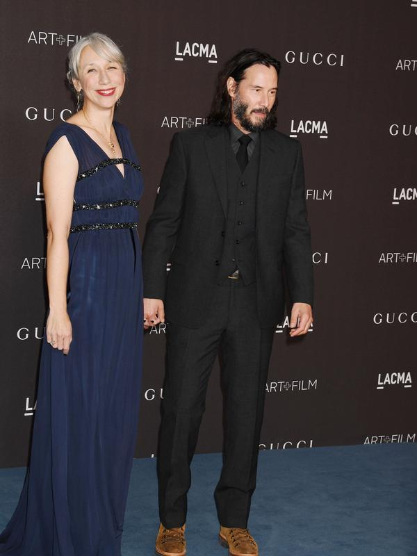 Keanu Reeves dan Alexandra Grant (FOTO: Splashnews)