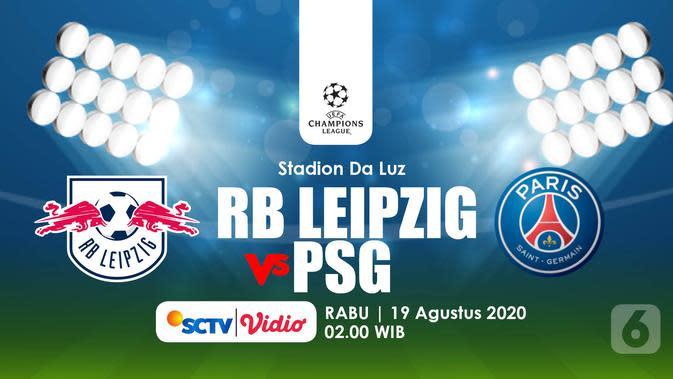 RB Leipzig vs PSG (Liputan6.com/Abdillah)